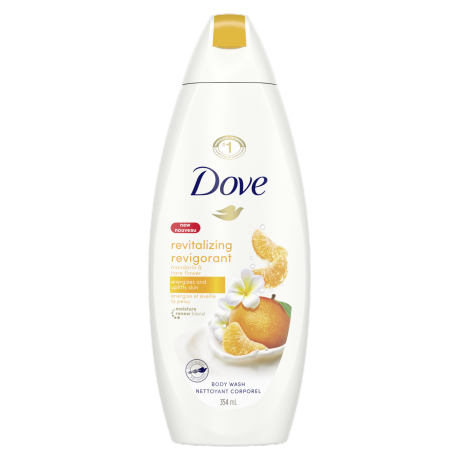 Revitalizing Body Wash with Mandarin and Tiare Body Wash 354ml