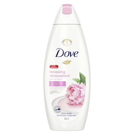 Renewing Body Wash with Peony and Rose Oil Body Wash 354ml