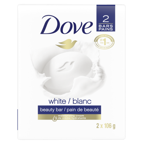 White Beauty Bar 2x106g