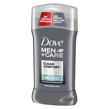 Dove Men+Care SPORT Deodorant Stick Active+Fresh 3.0 oz ingredient list