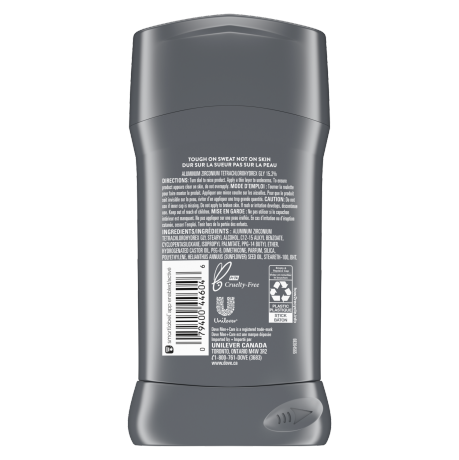 Antisudorifique en bâton Men+Care Sensitive Shield 76 g dos