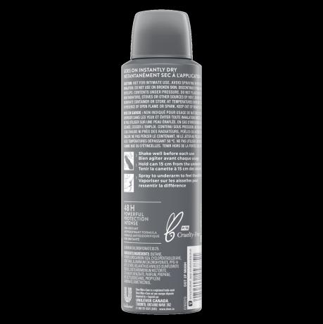 Men+Care Dove Men+Care Sportcare Fresh Dry Spray Antiperspirant 107g Back