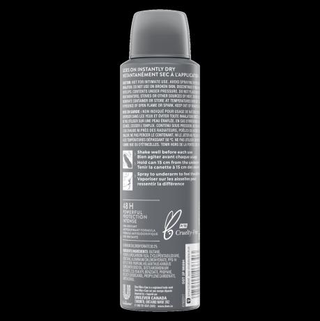 Men+Care Sportcare Comfort Dry Spray Antiperspirant 107g Back