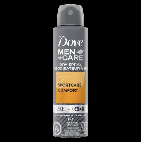 Men+Care Sportcare Comfort Dry Spray Antiperspirant 107g Front
