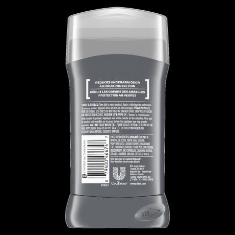 Dove Men+Care SportCare Comfort Deodorant Stick 3.0 oz back