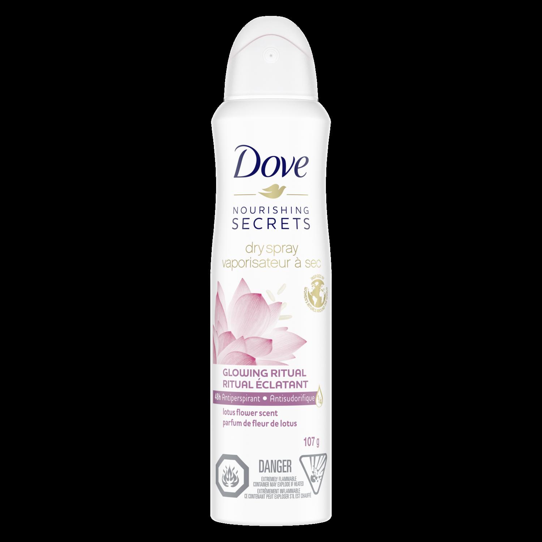 Unscented Antiperspirant Spray Dove