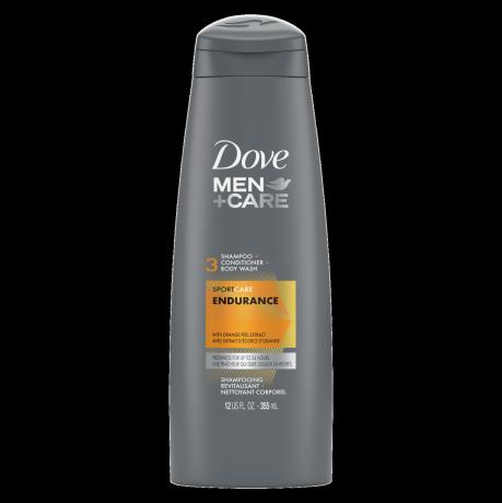 Dove Men+Care SportCare Endurance 3-in-1 Shampoo 12oz Front of Pack