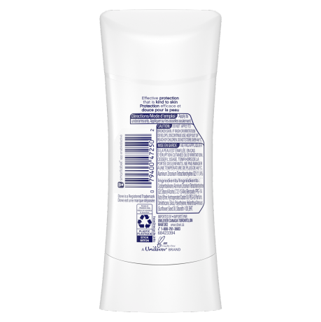 Advanced Care Invisible Sheer Fresh Stick 74g Back