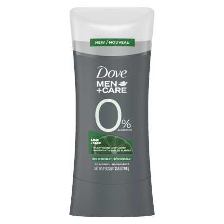 Lime + Sage 0% Aluminum 48h Deodorant Front of Pack