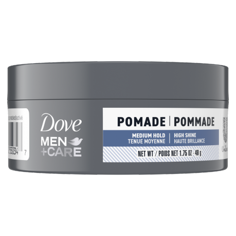 Dove Men+Care Medium Hold Polishing Pomade Front of Pack