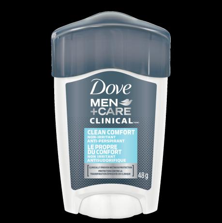 Antitranspirante en crema Dove Clean Comfort