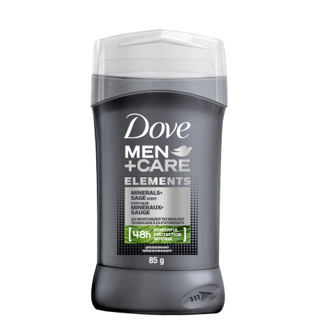 Men+Care Elements Deodorant Stick Minerals + Sage 85g