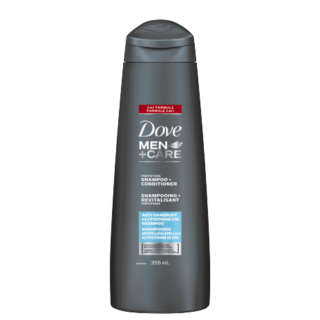 Men+Care Anti-Dandruff Shampoo and Conditioner 355ml