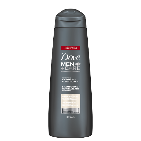 Men+Care Complete Care 2 in 1 Shampoo & Conditioner 355ml