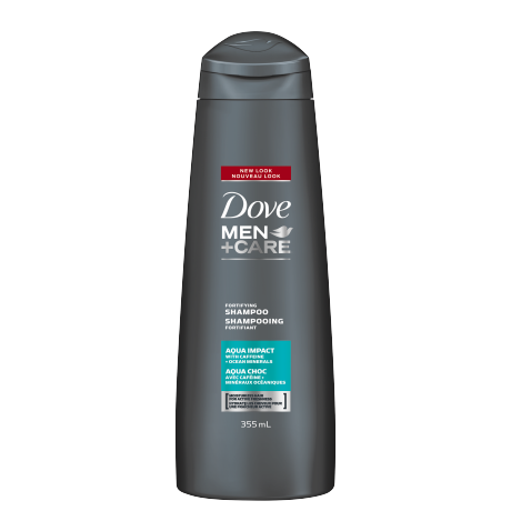 Men+Care Aqua Impact Fortifying Shampoo 355ml