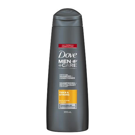 Men+Care Thick & Strong 2 in 1 Shampoo & Conditioner 355ml