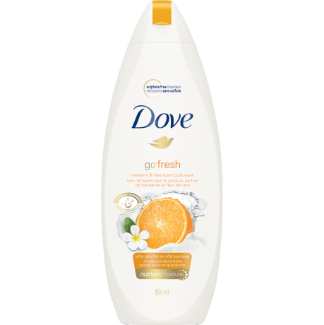 Go Fresh Revitalize Mandarin & Tiare Flower Body Wash 354ml