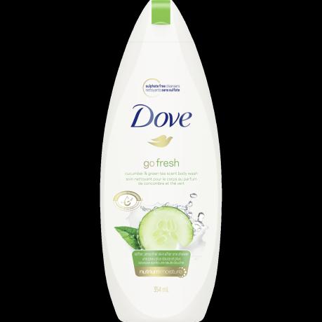 Nettoyant pour le corps Go Fresh Soins fraîcheur au parfum de concombre et thé vert 354 ml