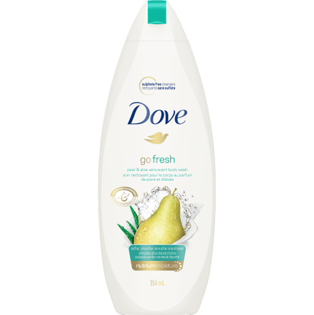 Body Wash Go Fresh Rejuvenate Pear & Aloe Vera Scent 354ml
