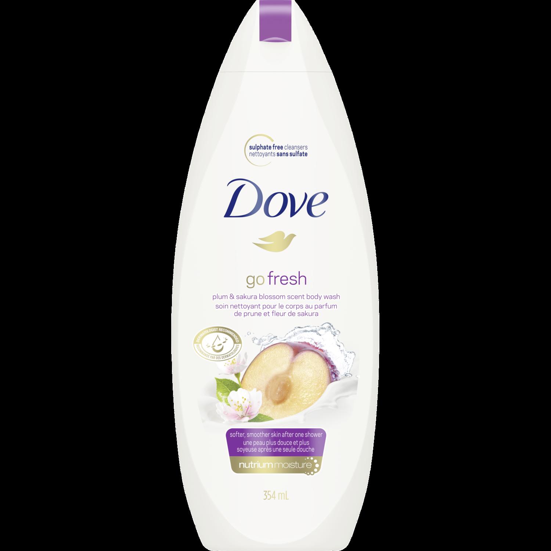 Go Fresh Rebalance Plum Sakura Blossom Body Wash Dove