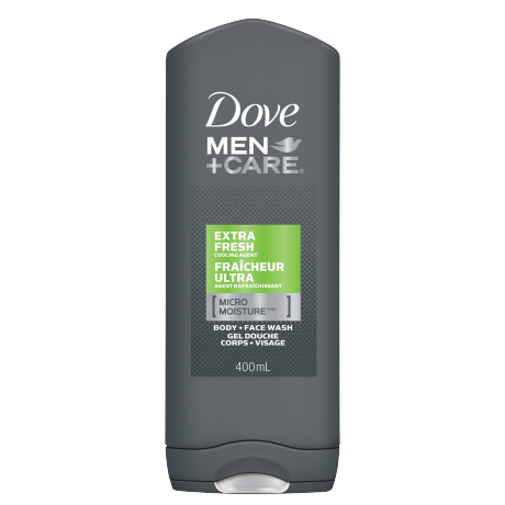 Men+Care Extra Fresh Micro Moisture Body & Face Wash 400ml