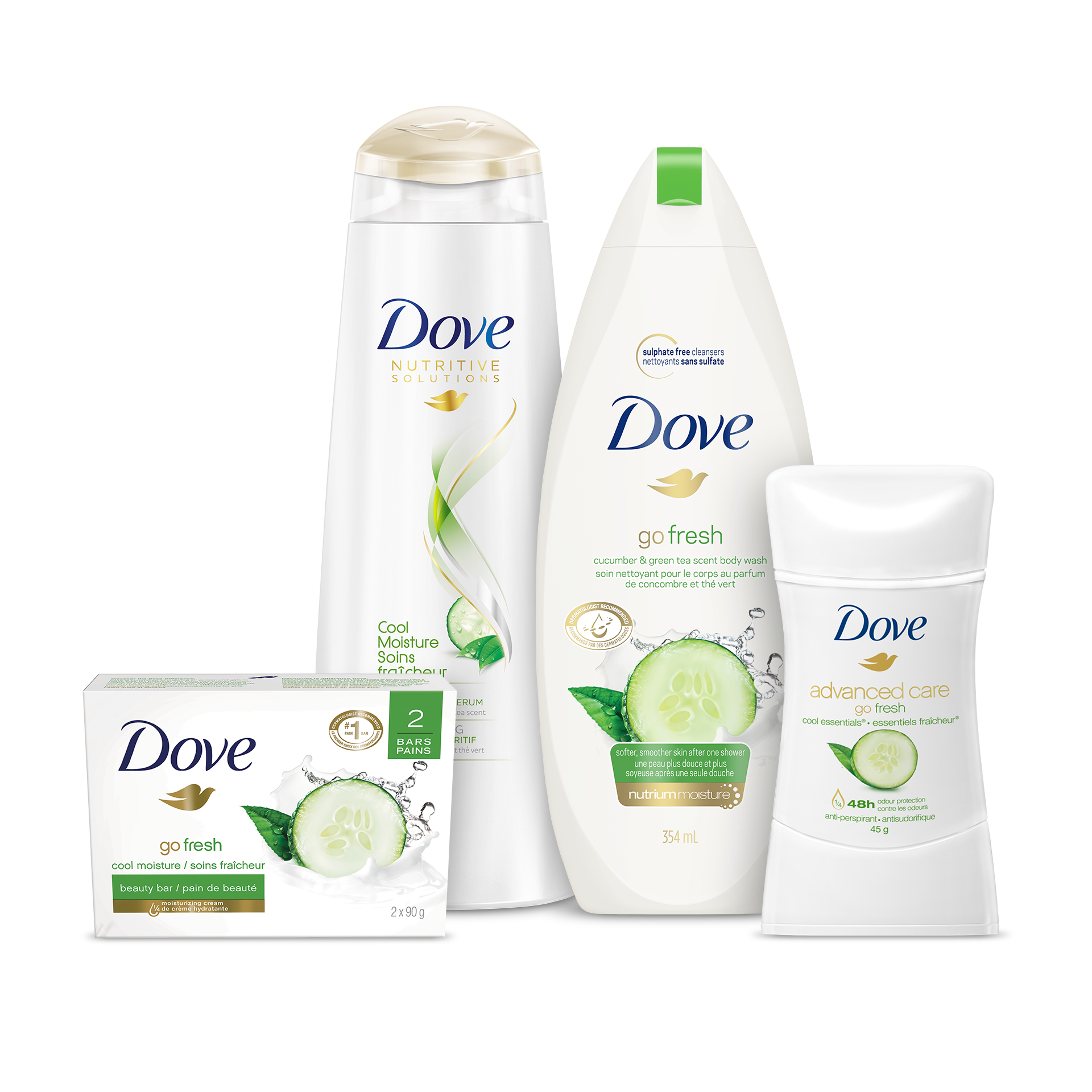 Discover Go Fresh Our Refreshing Skin Care Products Dove