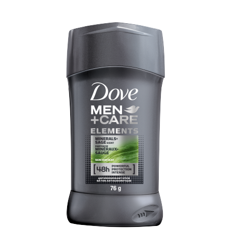 Men+Care Elements Antiperspirant Stick Minerals + Sage 76g