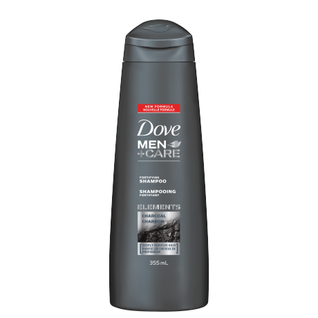 Shampooing Dove Men+Care Charbon 355 ml