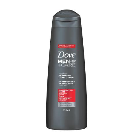 Shampooing + Revitalisant Fortifiant Dove Men+Care Éveil Revigorant 355 ml