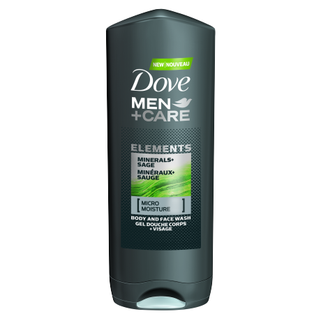 Men+Care Body Wash Minerals + Sage 400ml