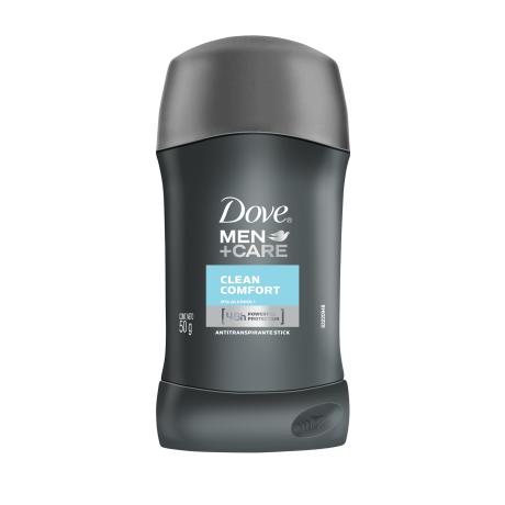 Dove Men+Care Antitranspirante Clean Comfort Barra 50g