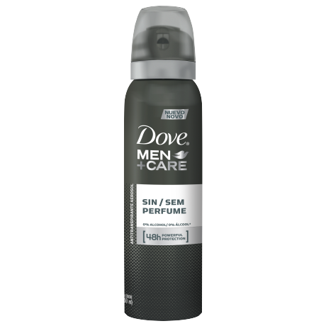 Dove Men+Care Antitranspirante Sin Perfume Aerosol 89g