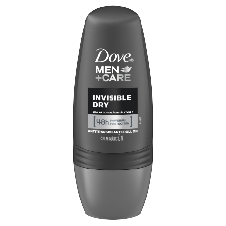 Dove Men+Care Antitranspirante Invisible Dry Roll On 50ml