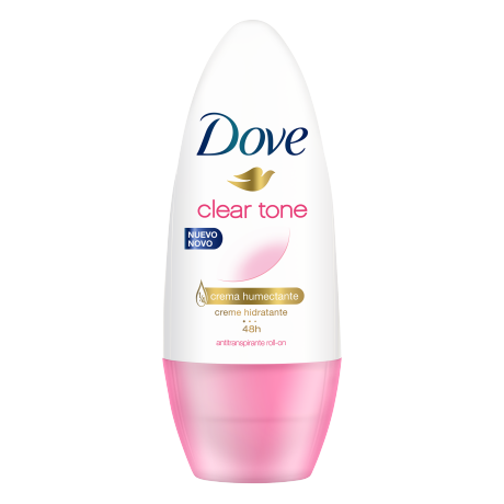 Dove Antitranspirante Clear Tone Roll On 50ml