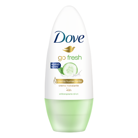 Dove Antitranspirante Go Fresh Pepino y Té Verde Roll On 50ml