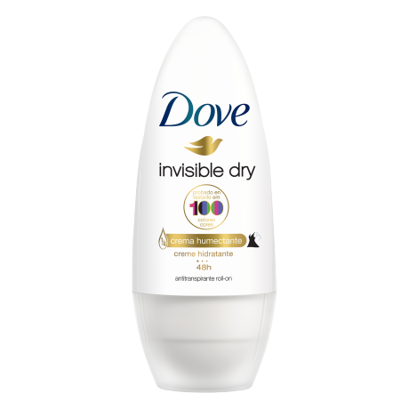Dove Antitranspirante Invisible Dry Roll On 50ml