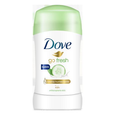 Dove Antitranspirante Go Fresh Pepino y Té Verde Barra 50g