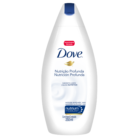 Dove Shower Nutrición Profunda 250ml