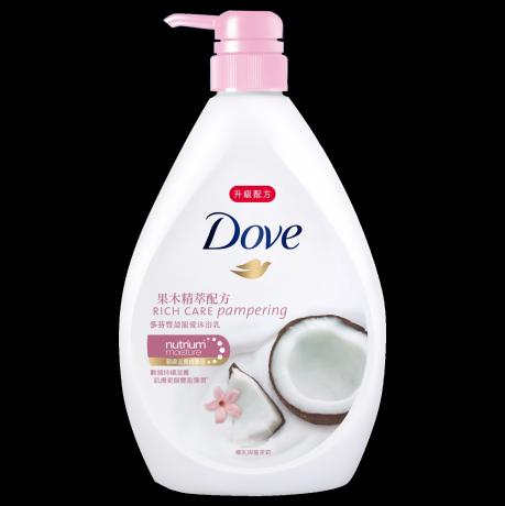 多芬豐盈寵愛沐浴乳 - 椰乳與蔓茉莉 750g