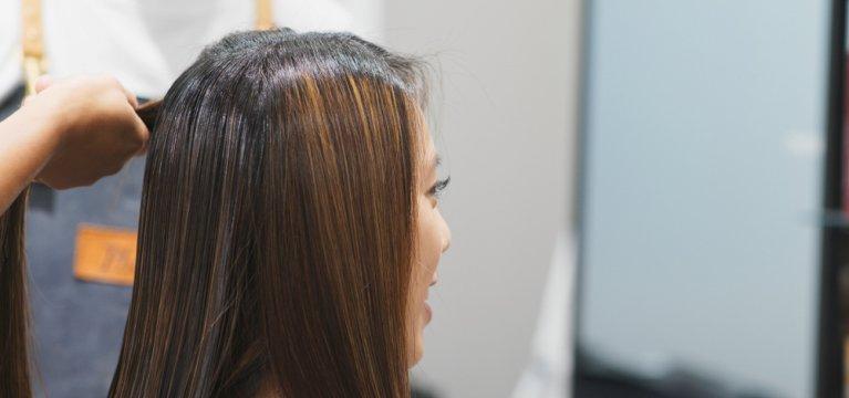 merawat rambut rebonding