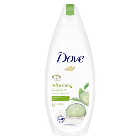 Sprchový gel Dove Refreshing Okurka a zelený čaj 250ml
