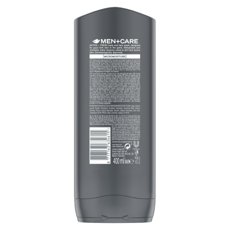 PNG - Dove Men BW 400ml Sports Active and Fresh