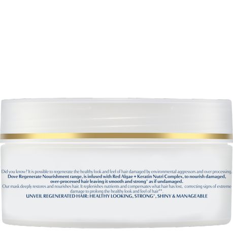 PNG - Dove_Advanced Hair Series Regenerate Nourishment mask for damaged hair
