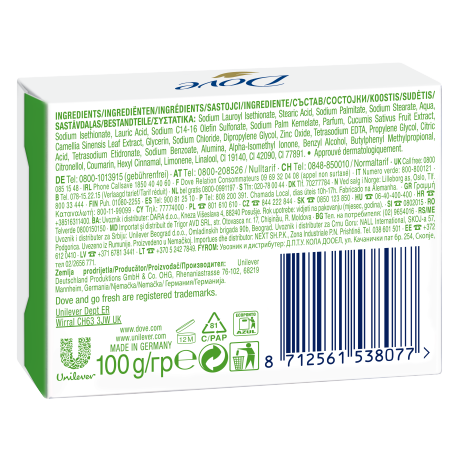 PNG - Dove Beauty Cream Bar go fresh Fresh Touch