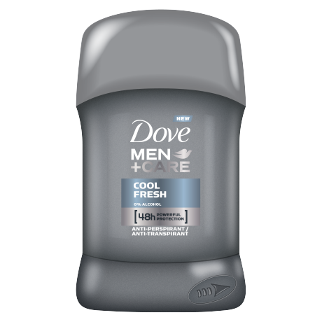 Tuhý antiperspirant Dove Men+Care Cool Fresh 50ml