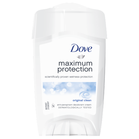 Tuhý antiperspirant deodorant Dove Maximum Protection Original Clean 45ml
