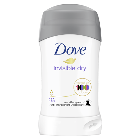 DOVE WOMAN INVISIBLE DRY STICK ANTI-PERSPIRANT