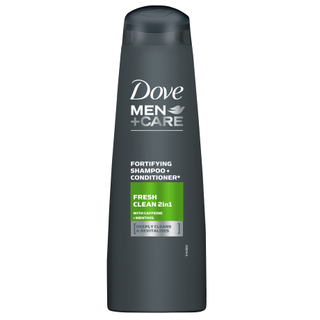 Šampón 2v1 pre mužov Dove Men+Care Fresh Clean 250ml