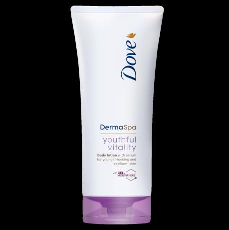 Tělové mléko Dove DermaSpa Youthful Vitality 200ml