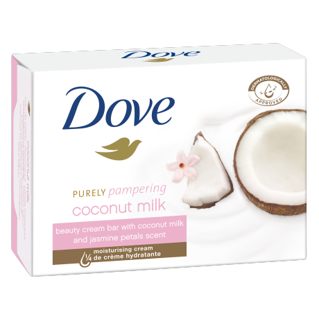 Dove Săpun-cremă Purely Pampering Coconut Milk with Jasmine Petals 100g